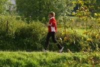 Beim Laufen oder Walken können sie gerne unsere Natur entdecken