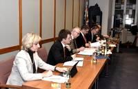 Bürgermeister Axel Linke leitet die Sitzungen des Warendorfer Stadtrates im Historischen Rathaus