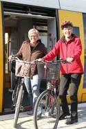 Mit Bahn und Bike nach Warendorf