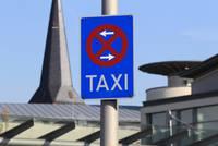 Taxistand am Bahnhof