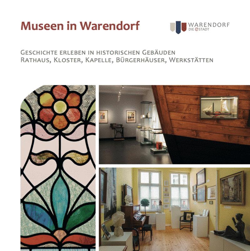 Titelseite der neuen Museumsbroschüre