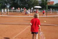Auch Tennisfreunde kommen in Warendorf auf ihre Kosten