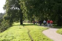 Eine abwechslungreiche Landschaft mit dem Rad erfahren