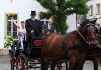 Heiraten und Pferde - das paßt in Warendorf