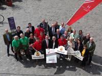 Warendorf zeigt Flagge für den Westfälischen Hansetag