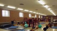 Sporthalle F, Kondition und Fitness