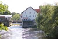 """Blick auf den """"Mühlenhof"""""""
