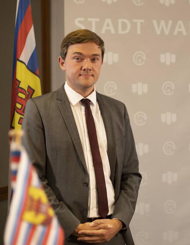 Peter Horstmann wurde zum Bürgermeister von Warendorf gewählt ©Foto: Stadt Warendorf