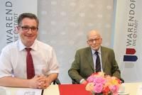 Festumzug zu Ehren von Hans Günter Winklers 90. Geburtstag