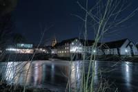 Mühlenkolk bei Nacht