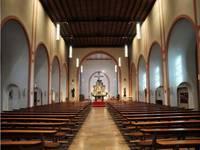 Blick in das Innere der Josefkirche