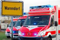 Rettungswagen des DRK (Deutsches Rotes Kreuz)