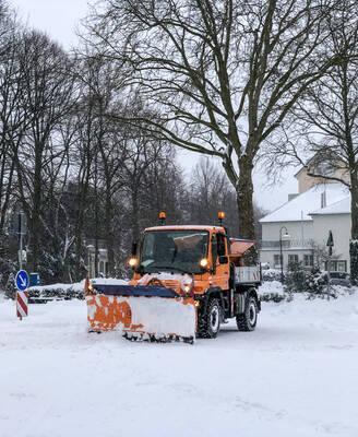 Winterdienst im Dauereinsatz