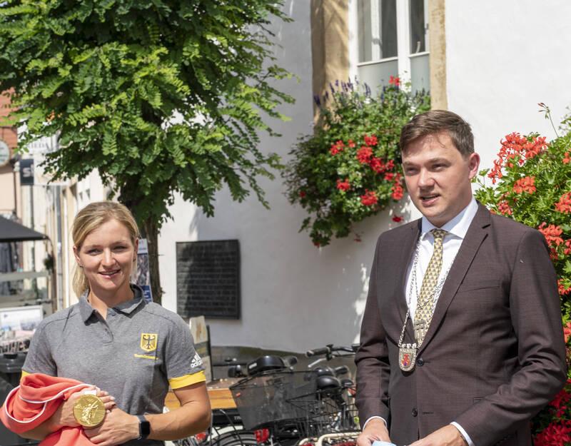 …und natürlich vom Hausherrn Bürgermeister Peter Horstmann.