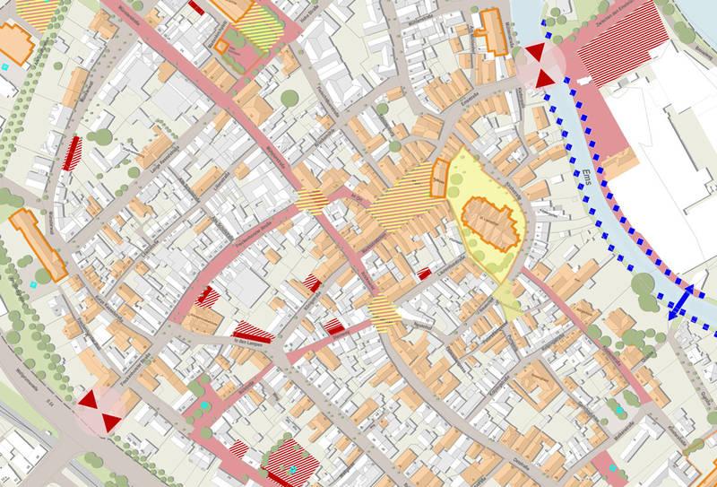 Karte Altstadt Warendorf
