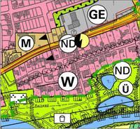 Auszug aus dem Flächennutzungsplan