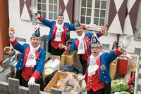 Rosenmontag ist der Höhepunkt im Warendorfer Straßenkarneval