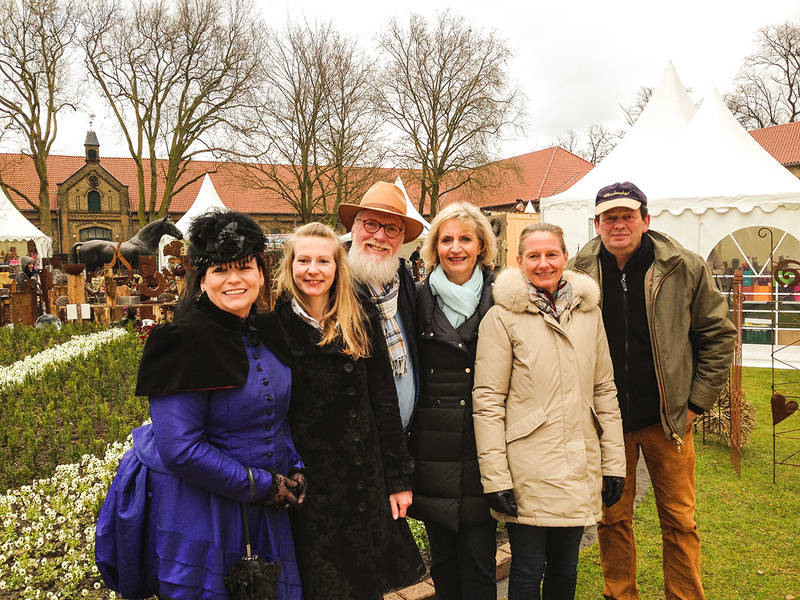 Veranstalter und Akteure des Gartenfestivals