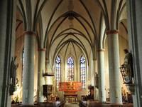 Innenansicht der Laurentiuskirche