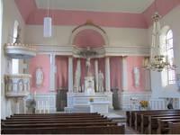 Blick in das Innere der Kirche