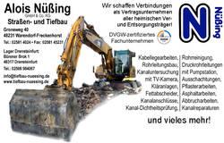 Alois Nüßing GmbH & Co. KG, Straßen- und Tiefbau