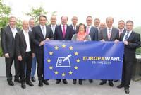 Bürgermeister Axel Linke ruft gemeinsam mit seinen Amtskollegen und Landrat Dr. Olaf Gericke zur Teilnahme an den Wahlen zum EU-Parlamant auf.