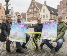 Bürgermeister Axel Linke, Halil Basaran (Extrablatt), Antonio Pisanelli (In Mezzo), Peter Grewer (Café Minibar)