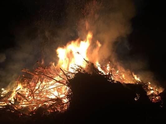 Osterfeuer dürfen nicht veranstaltet werden
