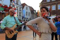 Live-Musik auf dem Warendorfer Marktplatz