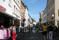 Fußgängerzone Warendorf