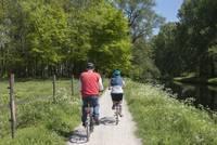 Per Rad durch die Warendorfer Parklandschaft.