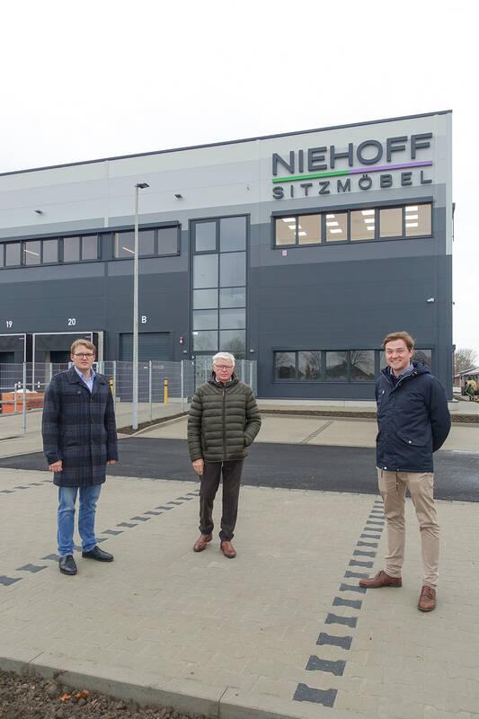 Bernd-Theo Niehoff, Theo Niehoff, Bürgermeister Peter Horstmann