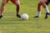 Der Fußball fehlt Warendorf natürlich auch nicht