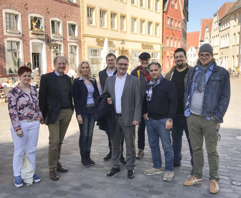 """Bürgermeister lädt Fraktionsspitzen und Marktgastronomen zum """"Runden Tisch"""" ein"""