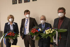 Doris Kaiser, Peter Horstmann, Dr. Hermann Mesch, Joachim Schulz