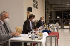Dieter Stafflage, Peter Horstmann, Dr. Martin Thormann