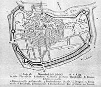 Warendorf im 18. Jahrhundert