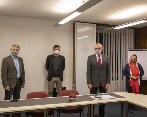 Franz-Ludwig Blömker, Peter Horstmann, Bernhard Daldrup, Andrea Kleene-Erke