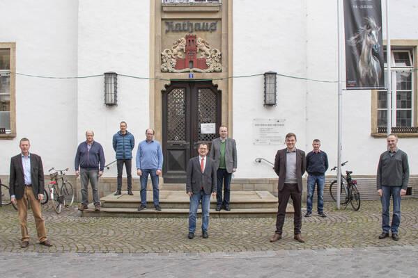 Jahresgespräch der Landwirtschaftlichen Ortsverbände mit Bürgermeister Peter Horstmann