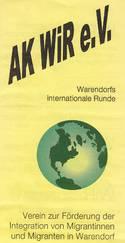 Flyer Arbeitskreis WiR e.V.