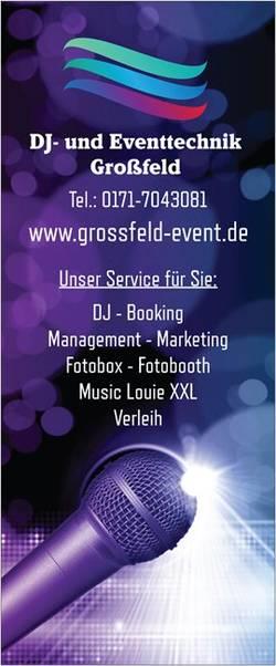 DJ- und Eventtechnik Großfeld