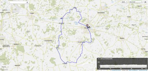 Routenvorschlag 6: Warendorf und alle Stadtteile