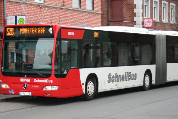 Warendorf Bus Bahn