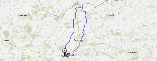 Tourenvorschlag 4: Rundkurs Warendorf- Füchtorf - Sassenberg - Warendorf